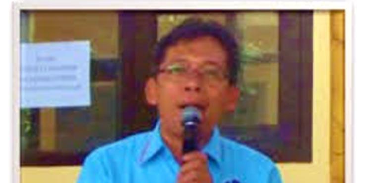 Kepala Sekolah SMA Negeri 13 Mamat Mahpudin.