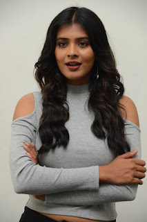 hebah patel at angel movie launch