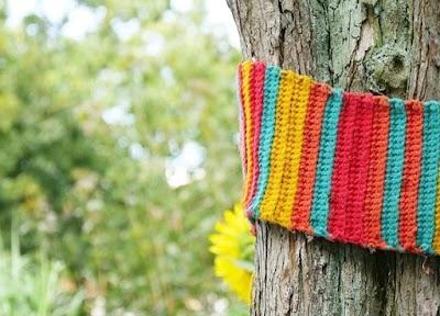 9 Formas de tejer bufandas a cadenetas de crochet