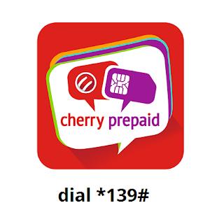 Cherry Prepaid dial *139#