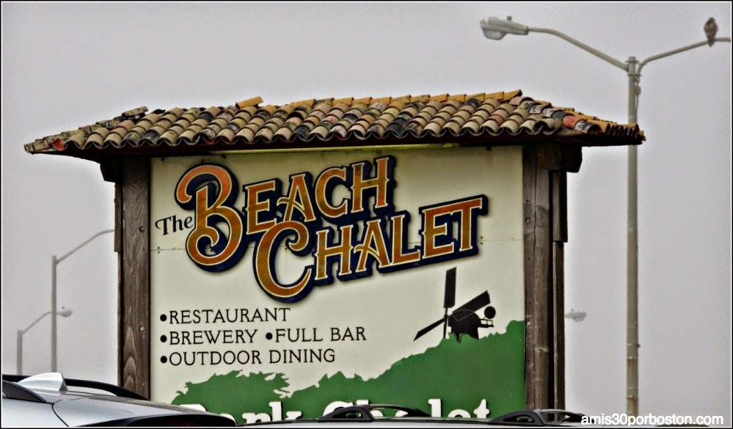 Ruta Gastronómica por San Francisco: The Beach Chalet