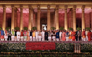 Cabinet minister group photo
