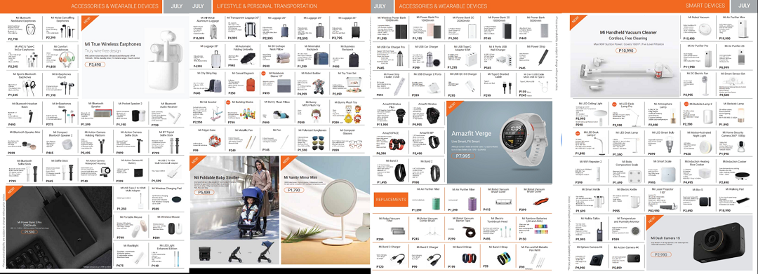 Xiaomi Mi Authorized Store Brochure July