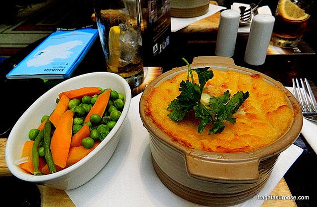 Cottage Pie, comida típica da Irlanda