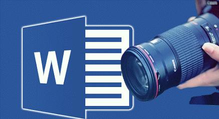 ميزة رائعة  في برنامج الوورد لالتقاط الصور على حاسوبك او صفحة ويب و ادراجها