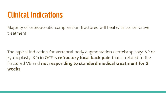 Vertebral Body Augmentation in Osteoporotic Spinal Fractures - Indications and Techniques