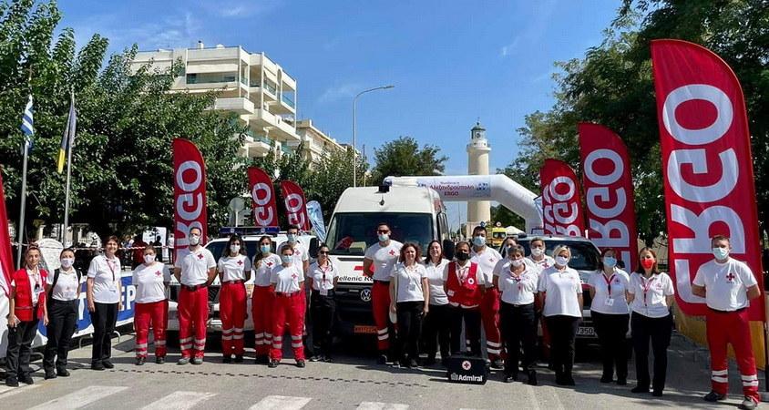 Δράσεις του Περιφερειακού Τμήματος του Ελληνικού Ερυθρού Σταυρού Αλεξανδρούπολης