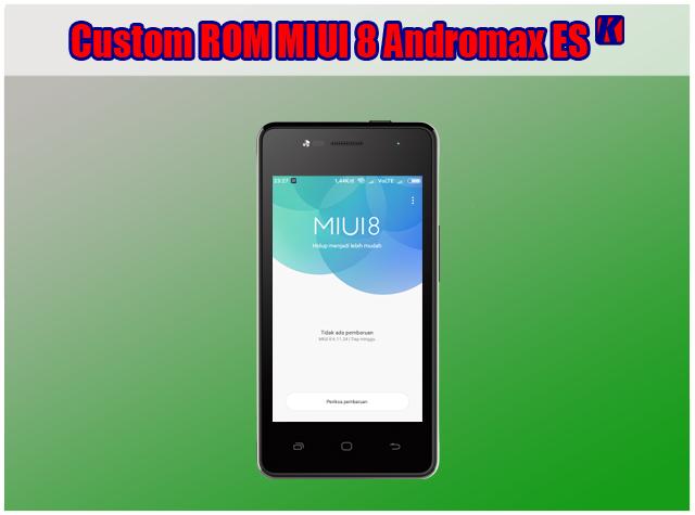 Custom ROM Xiaomi MIUI 8 VolTE Untuk Andromax ES (Tested 100%)
