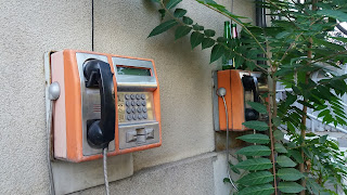 telefon public cu cartela