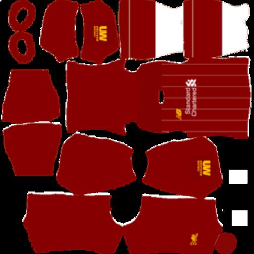 Kits DLS Liverpool New Dream League Soceer 2020   Update