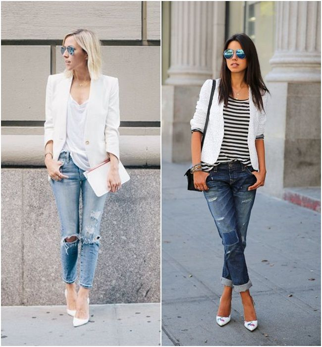 Tendência calçado branco