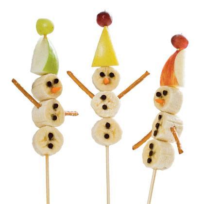 Snowman on a Stick Recipe
