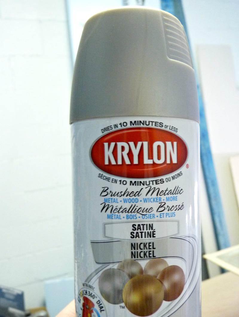 Krylon Brushed Metallic Satin