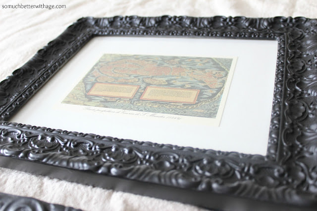 use watercolor paper display art www.somuchbetterwithage.com