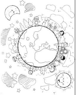Imagenes para colorear de la ONU dibujos para colorear del día de las naciones unidas