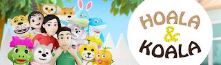 menyanyi bersama Hoala & Koala