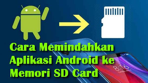memindahkan aplikasi android