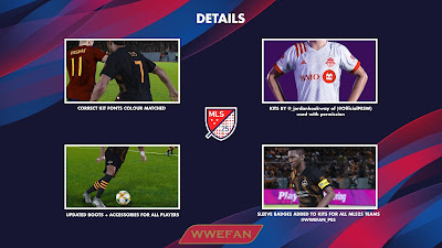 PES 2020 PS4 Option File MLS 2020/2021 by WWEFAN