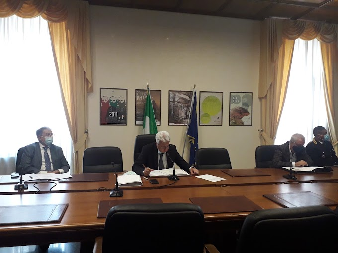 Potenza: in Prefettura riunione del Tavolo di coordinamento regionale contro il caporalato