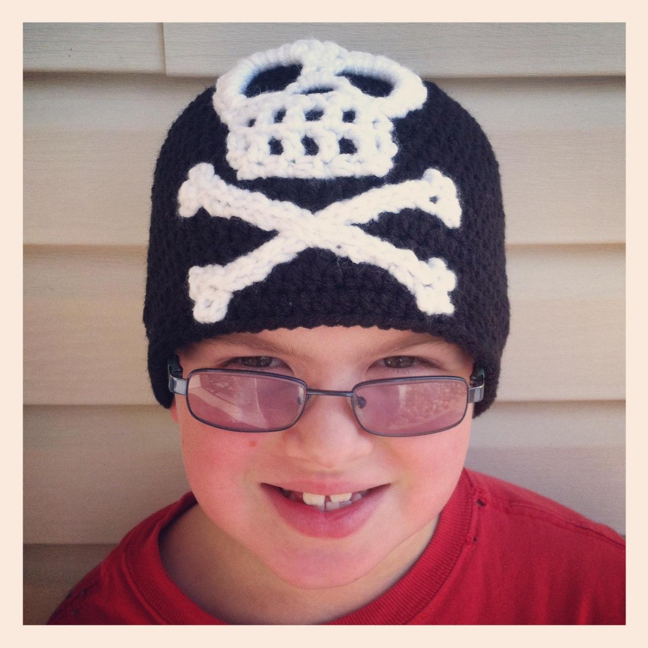 Crochet Rochelle Kids Pirate Beanie
