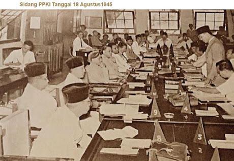 Perumusan dan Pengesahan UUD Negara Republik Indonesia Tahun 1945