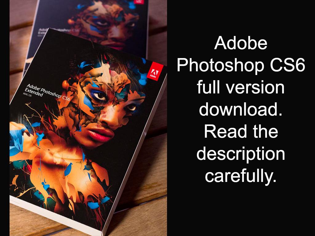 download photoshop cs6 full version gratis