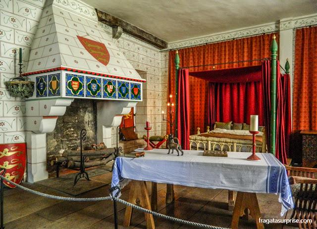 Aposentos do rei Eduardo IV na Torre de Londres