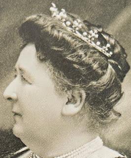 Countess of Flanders' Pearl & Diamond Tiara