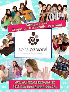 Spiral Personal. Gabinete Social & Coach, os presenta sus Grupos de Desarrollo Personal