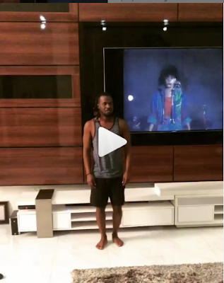 """""""See Crib"""" - Paul Okoye Does The Micheal Jackson Dance With Family, Fans Reacts"""