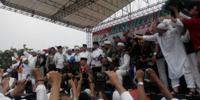 Dengar Pidato Jokowi, Menag Klaim Massa Aksi Bela Islam III Mengapresiasi