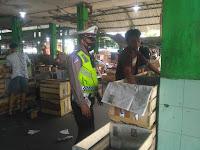 Ops Patuh Progo 2021, Polsek Umbulharjo Gelar Sosialisasi di Pasar Giwangan