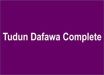 Tudun Dafawa Complete hausa novels world