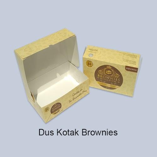 Cetak Dus Kotak Brownies