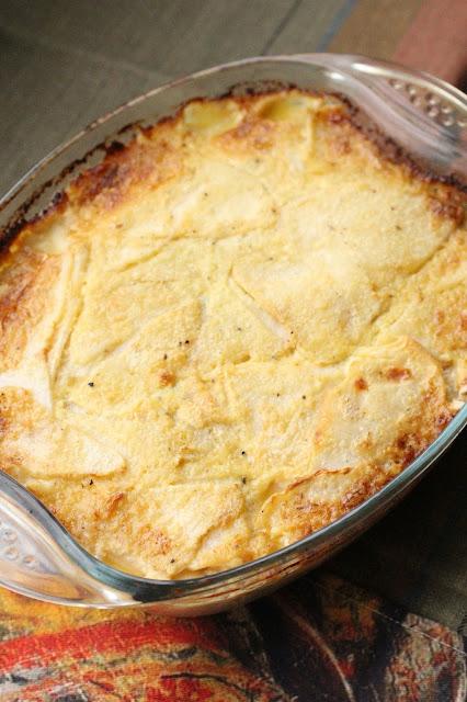 gratin de celeri rave creme et anchois