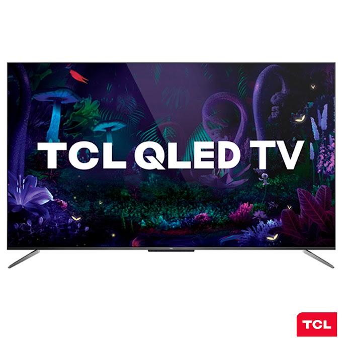 """Smart TV Android 65"""" TCL QLED 4K Ultra HD Wi-Fi 3 HDMI 2 USB QL65C715"""