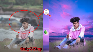 SNAPSEED NEW DOUBLE EXPOSURE PHOTO EDITING TUTORIAL|| BACKGROUND DOWNLOAD