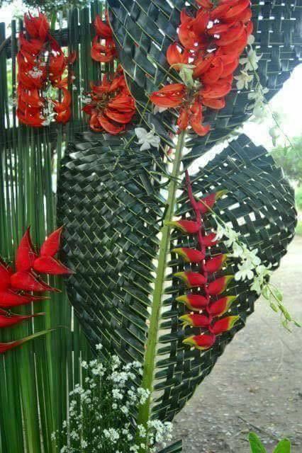 kerajinan anyaman kelapa