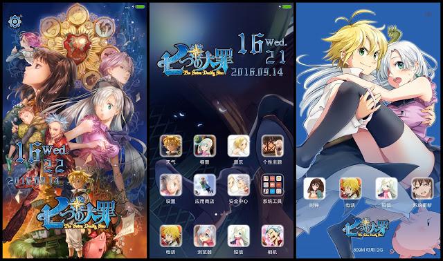 download tema anime android gratis