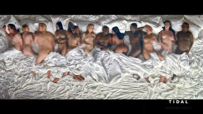 Muzik Video Kanye Papar Imej 'Bogel' Trump, Taylor Swift