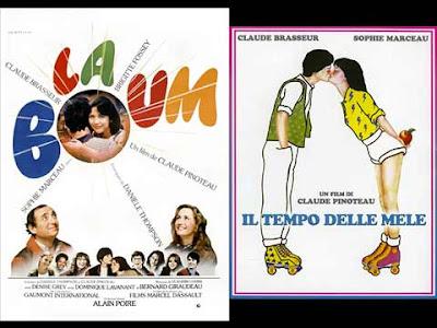 La locandina di '''La boum'', in italiano ''Il tempo delle mele''