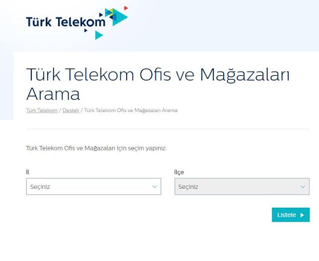 turk-telekom-bayi-ofis-arama
