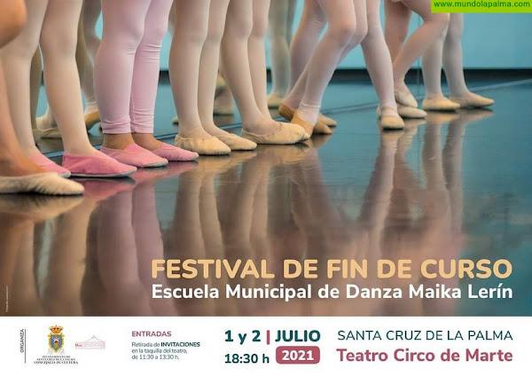 La Escuela Municipal de Danza clausura el curso con un festival de dos días en el Teatro Circo de Marte