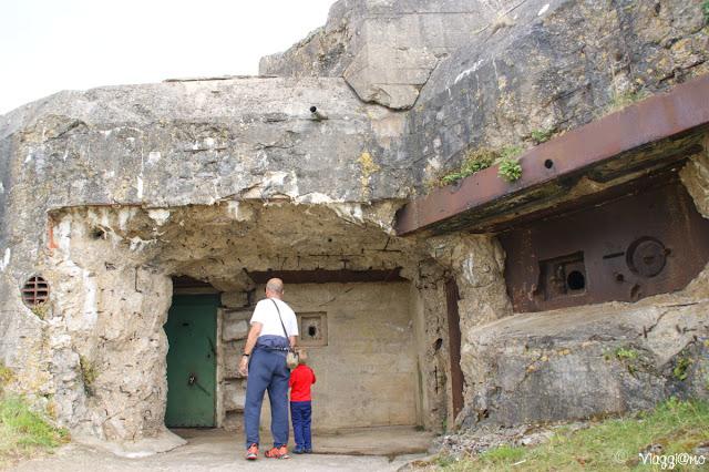Bunker del Memoriale 39/45 vicino a Saint Malo