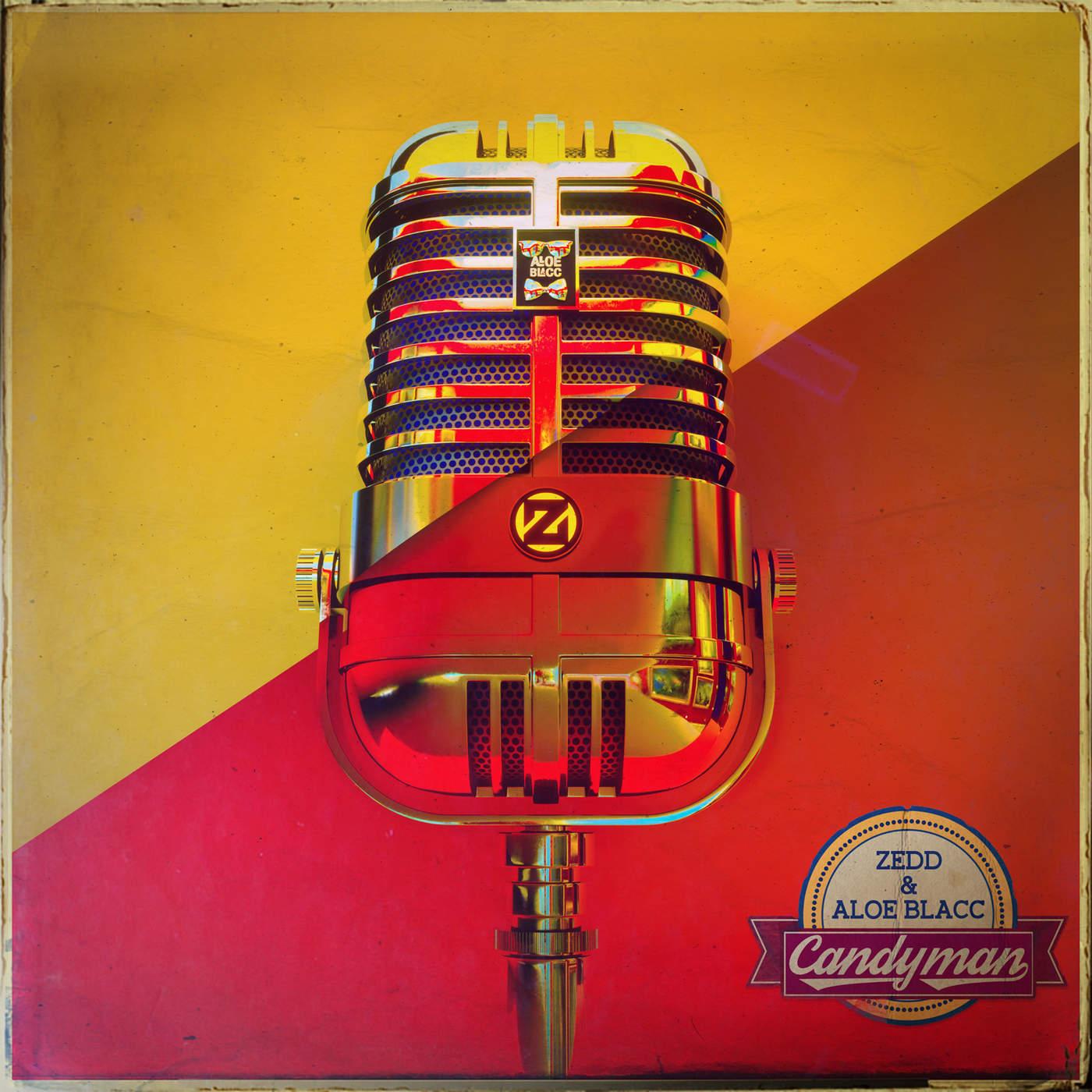 Zedd & Aloe Blacc – Candyman – Single Cover