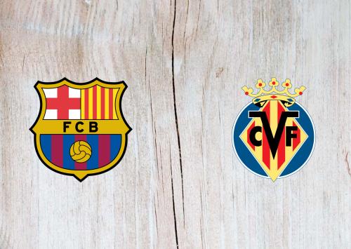 Barcelona vs Villarreal -Highlights 27 September 2020