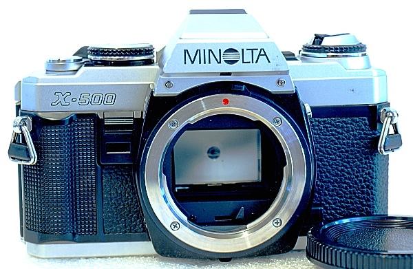 Minolta X-500, Front