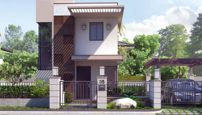 Magnificent Collection 50 Beautiful Narrow House Design For A 2 Story 2 Floor Largest Home Design Picture Inspirations Pitcheantrous