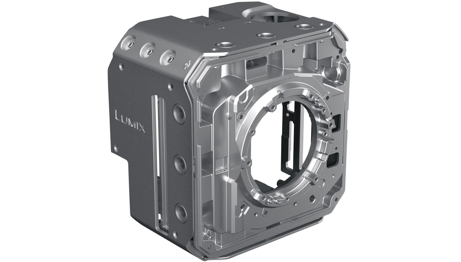 Корпус Panasonic Lumix BGH1 из магниевого сплава