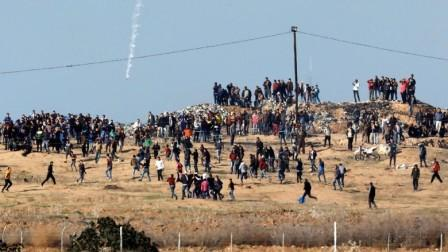 Sedikitnya 2 Warga Palestina Tewas dalam Aksi Memprotes Keputusan Trump di Gaza